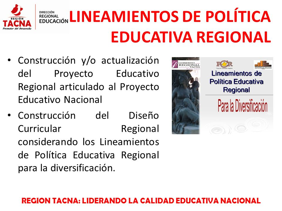 Lineamientos de pol tica educativa regional ppt video for Proyecto de construccion de aulas educativas