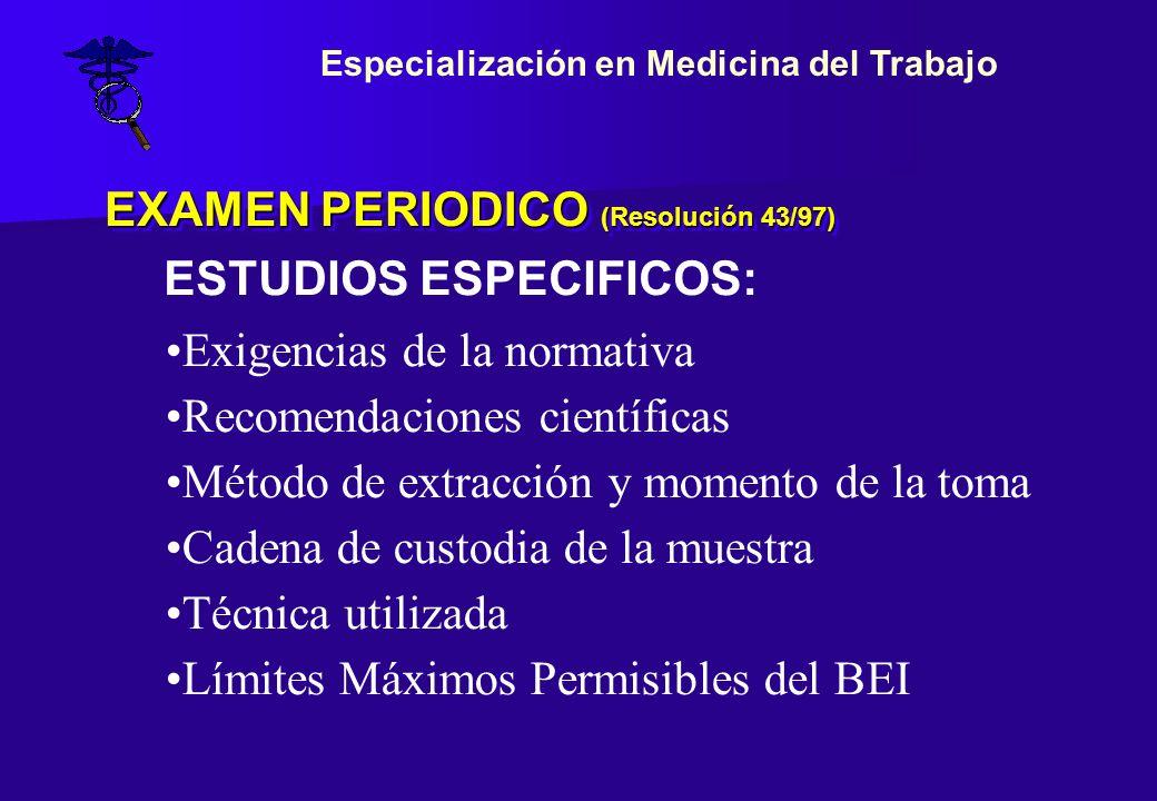 EXAMEN PERIODICO (Resolución 43/97)