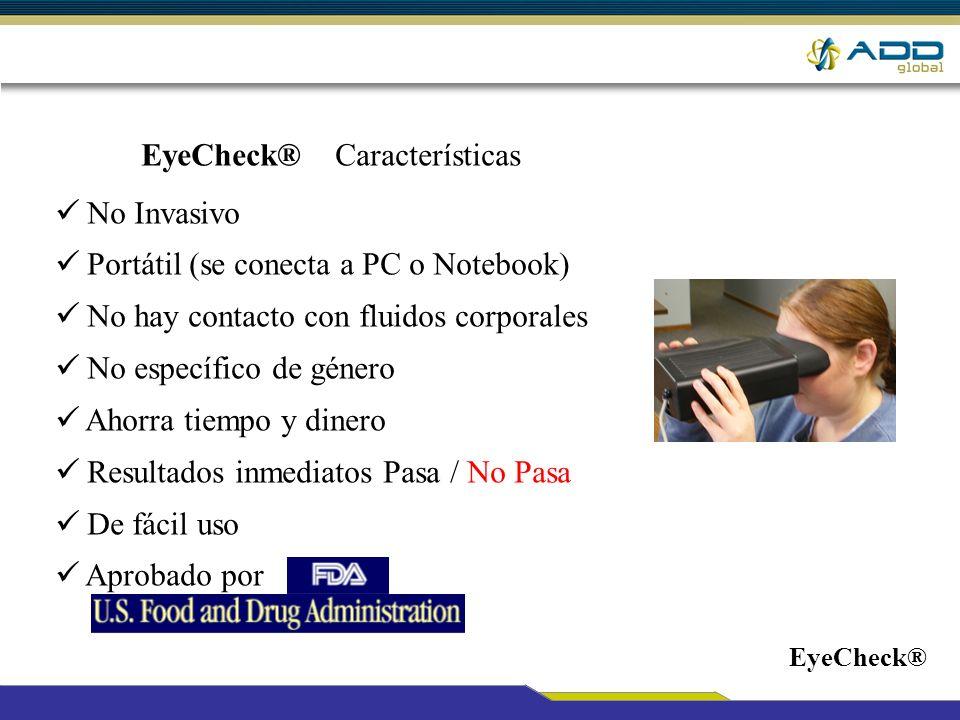EyeCheck® Características