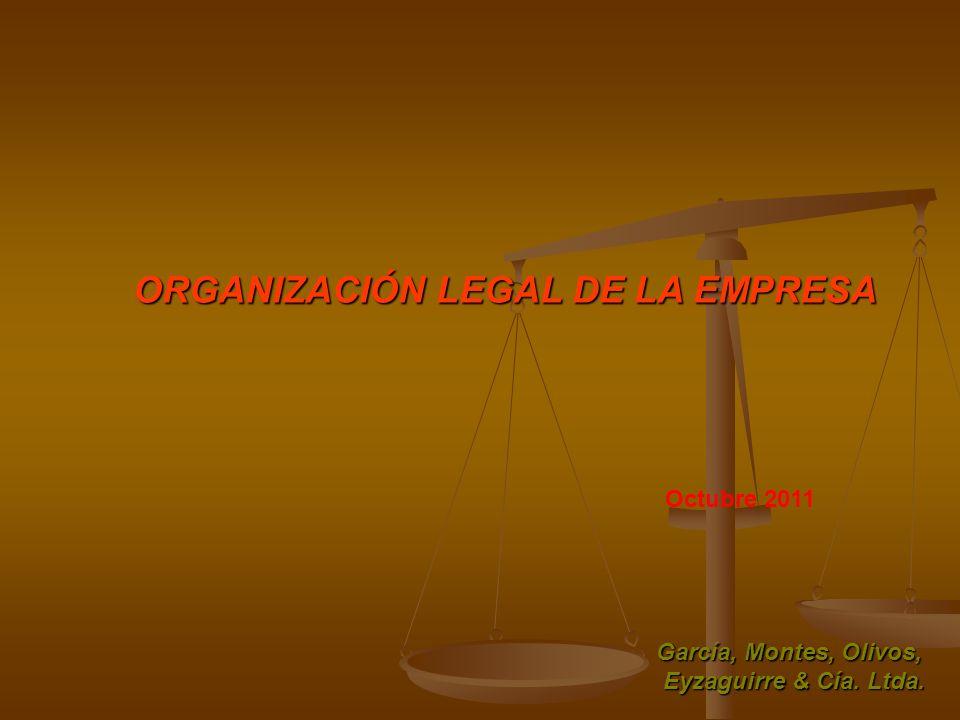 ORGANIZACIÓN LEGAL DE LA EMPRESA
