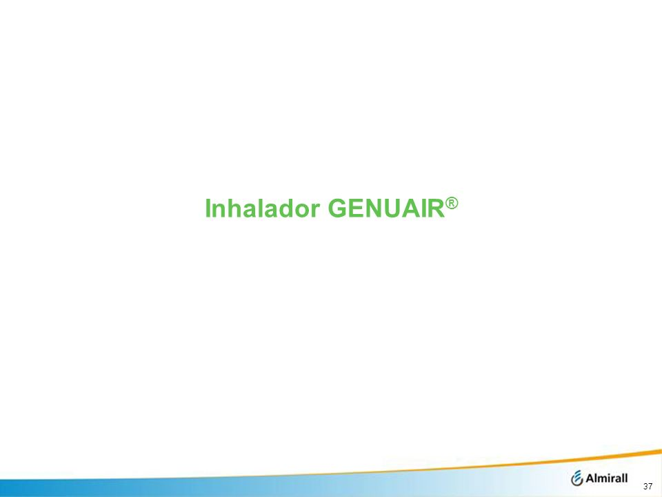 Inhalador GENUAIR®