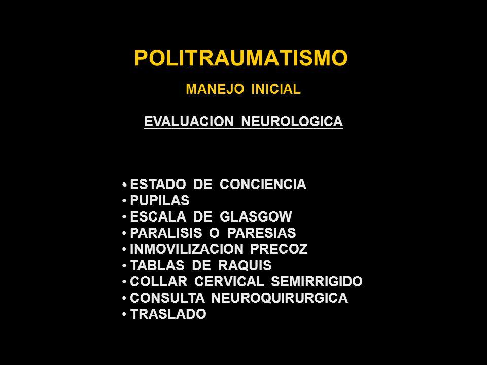 EVALUACION NEUROLOGICA