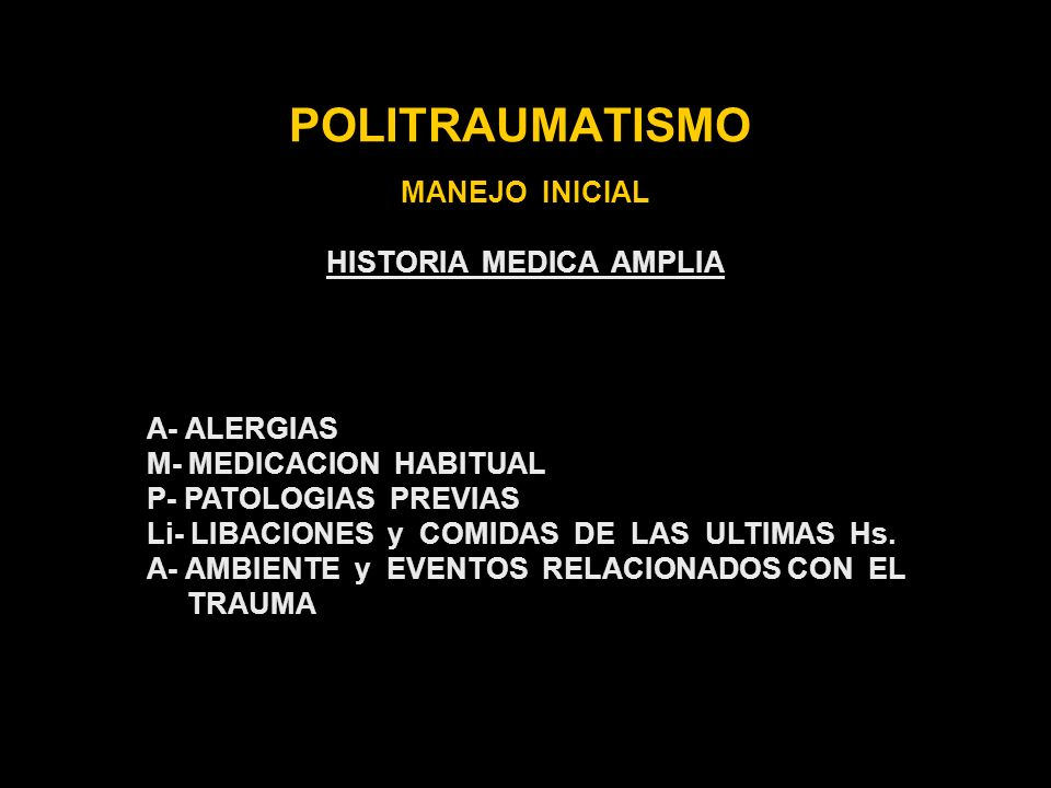 HISTORIA MEDICA AMPLIA