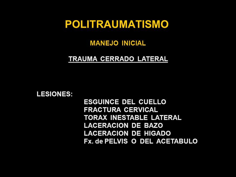 TRAUMA CERRADO LATERAL