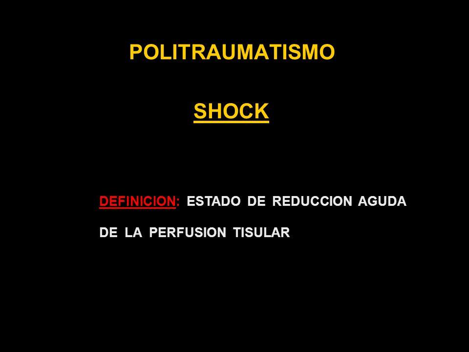 POLITRAUMATISMO SHOCK