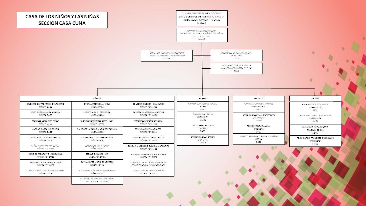 Estructura org nica sistema del desarrollo integral de la for Sindicato jardineros