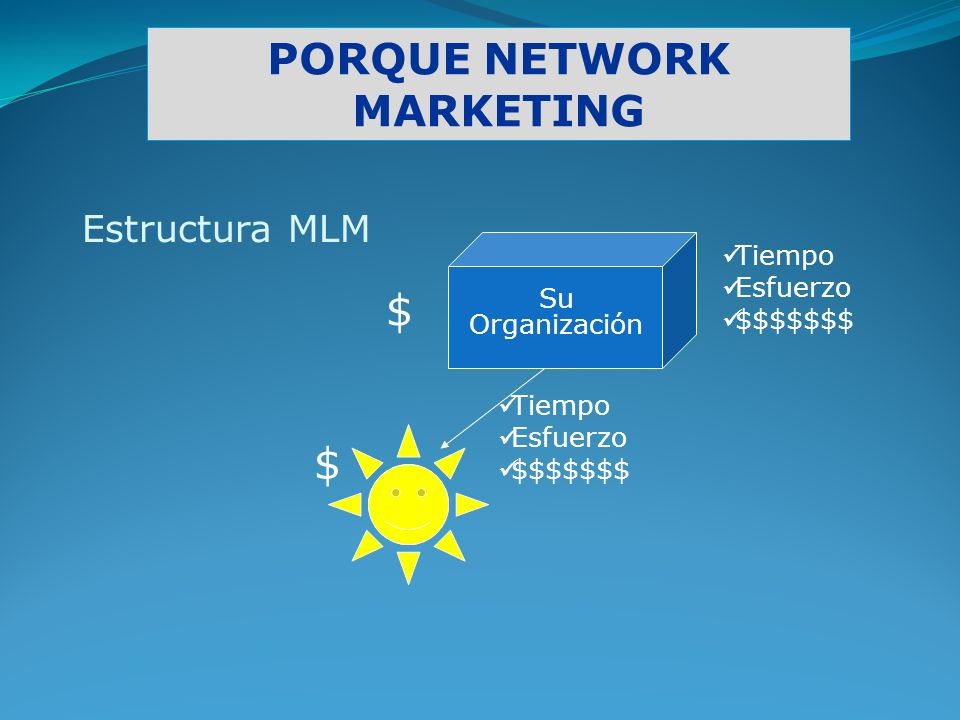 PORQUE NETWORK MARKETING