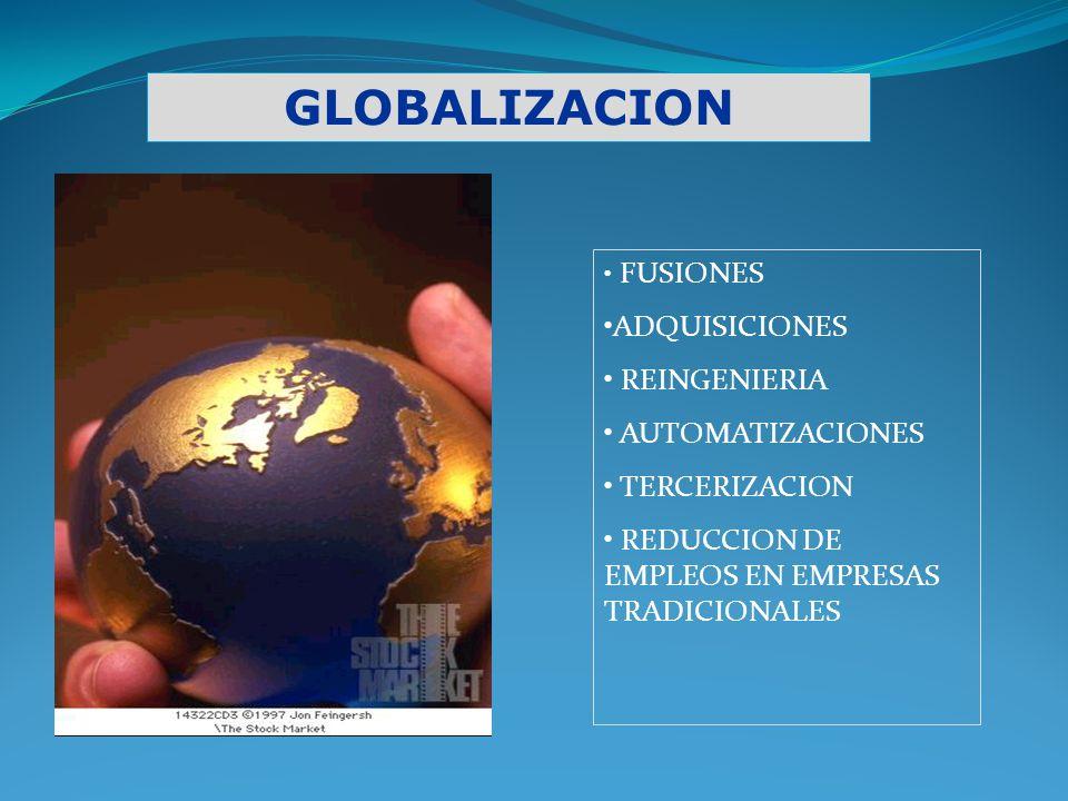 GLOBALIZACION ADQUISICIONES REINGENIERIA AUTOMATIZACIONES