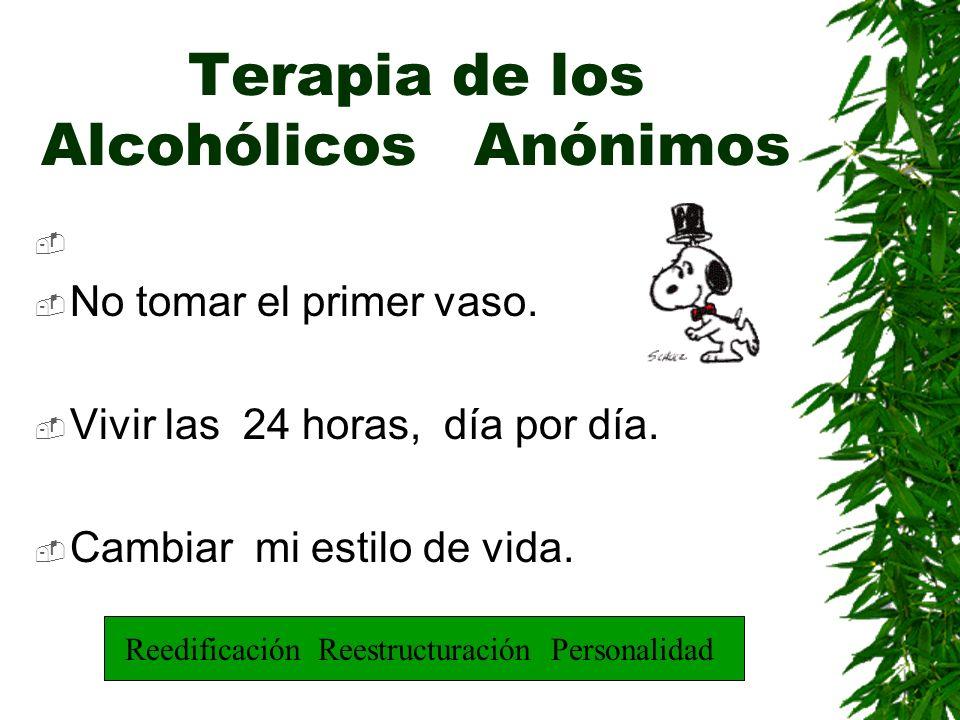 Terapia de los Alcohólicos Anónimos