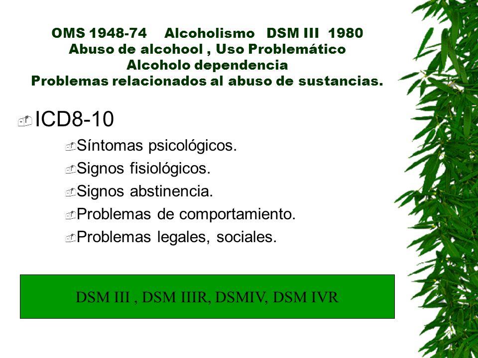 DSM III , DSM IIIR, DSMIV, DSM IVR