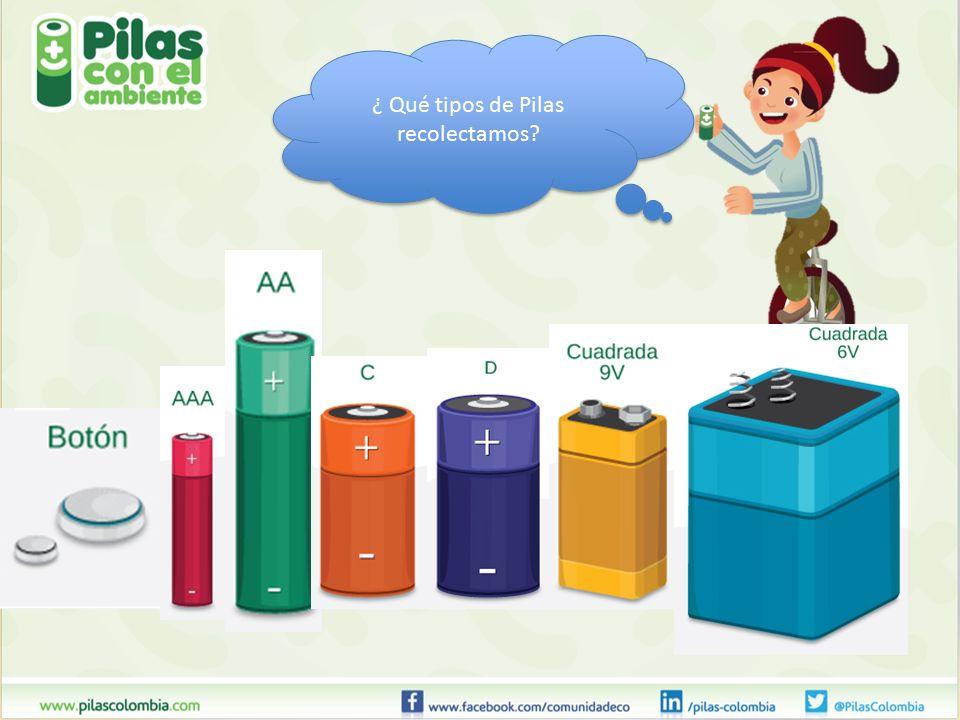 Pilas con el ambiente ppt descargar - Tipos de pilas recargables ...