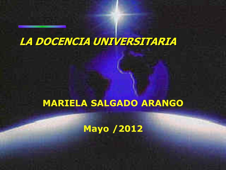 MARIELA SALGADO ARANGO Mayo /2012
