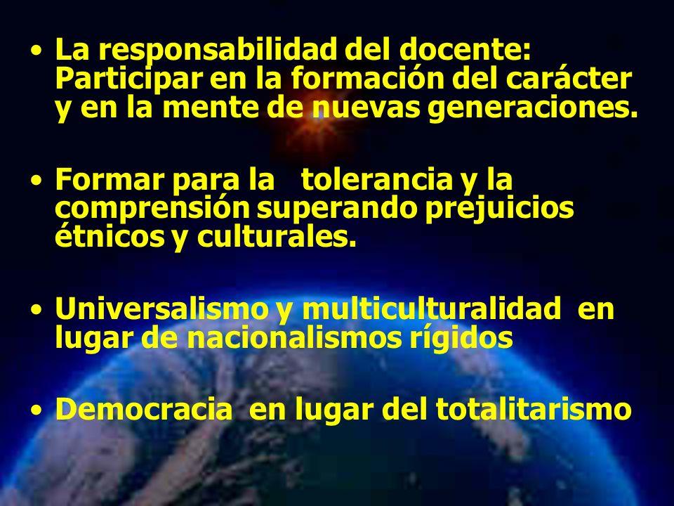 Universalismo y multiculturalidad en lugar de nacionalismos rígidos