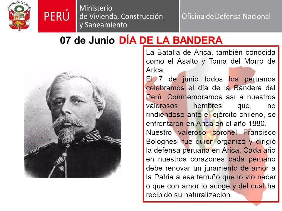 07 de Junio DÍA DE LA BANDERA