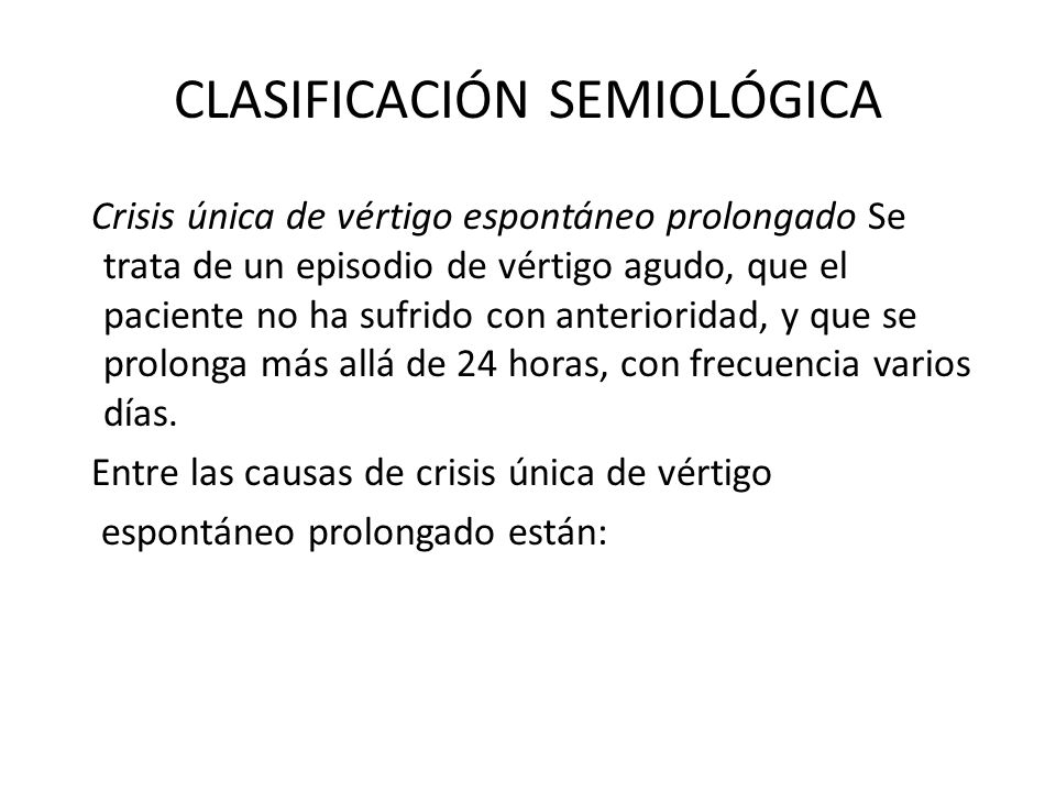 CLASIFICACIÓN SEMIOLÓGICA