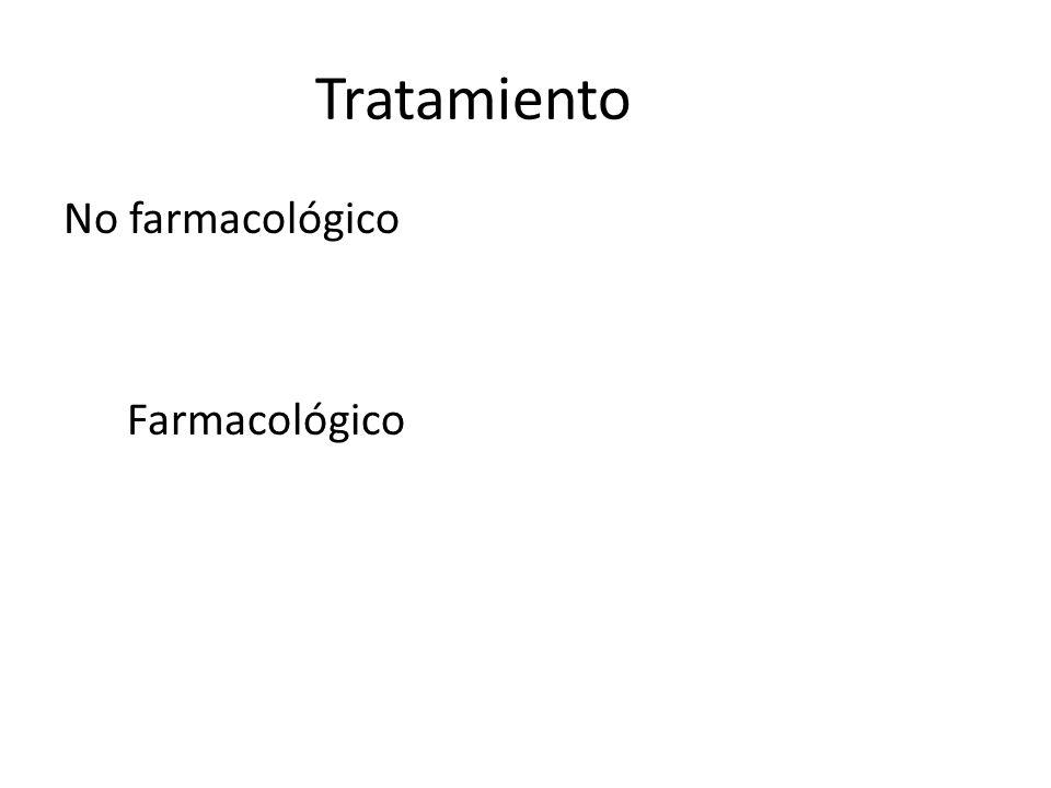 Tratamiento No farmacológico Farmacológico 41 41