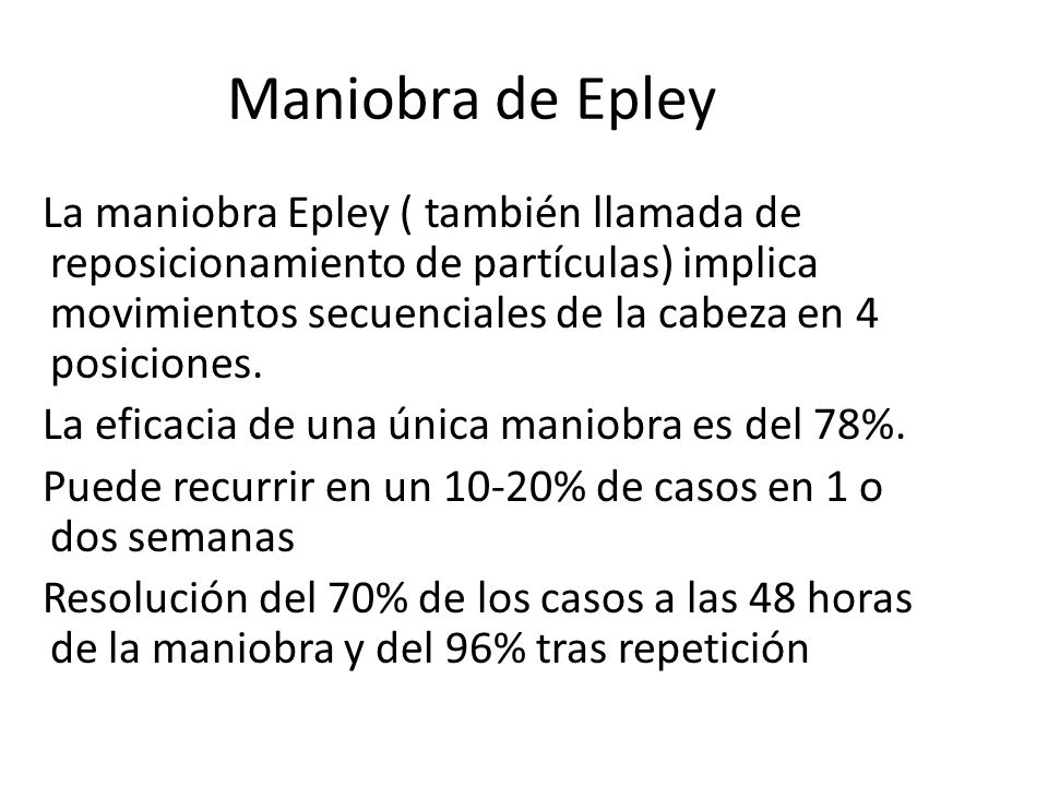 Maniobra de Epley