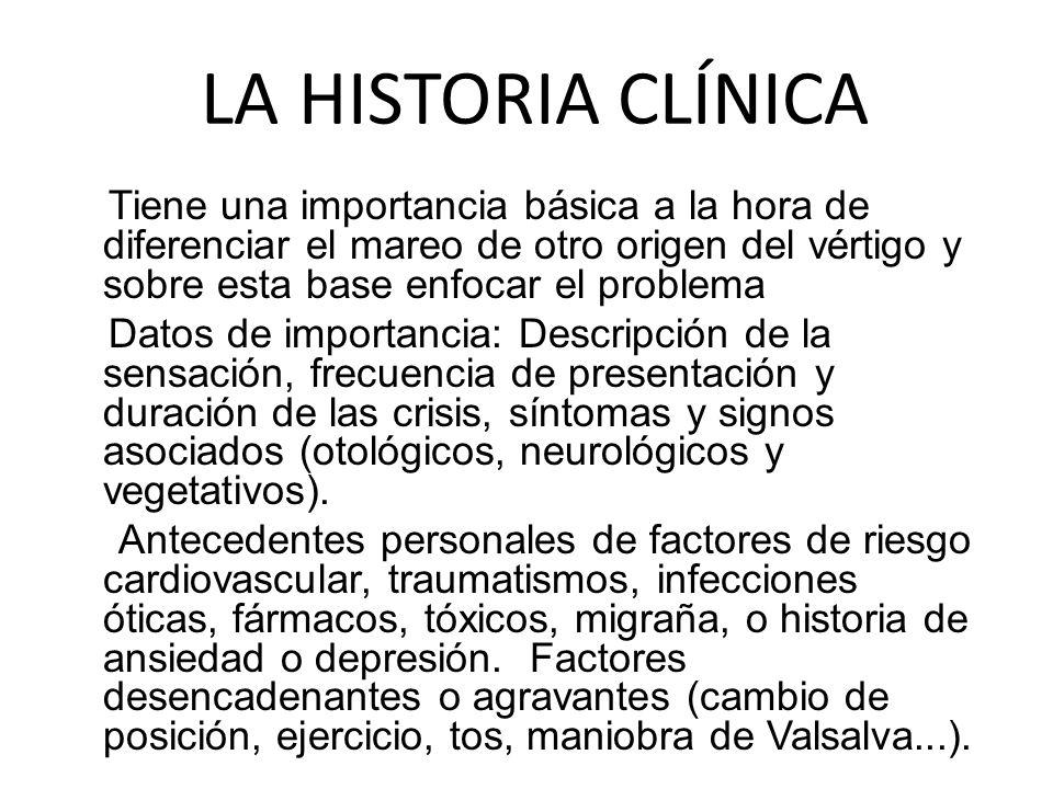 LA HISTORIA CLÍNICA
