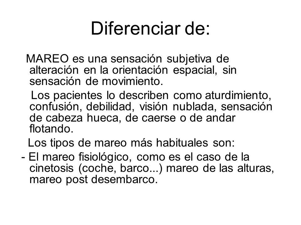 Diferenciar de:
