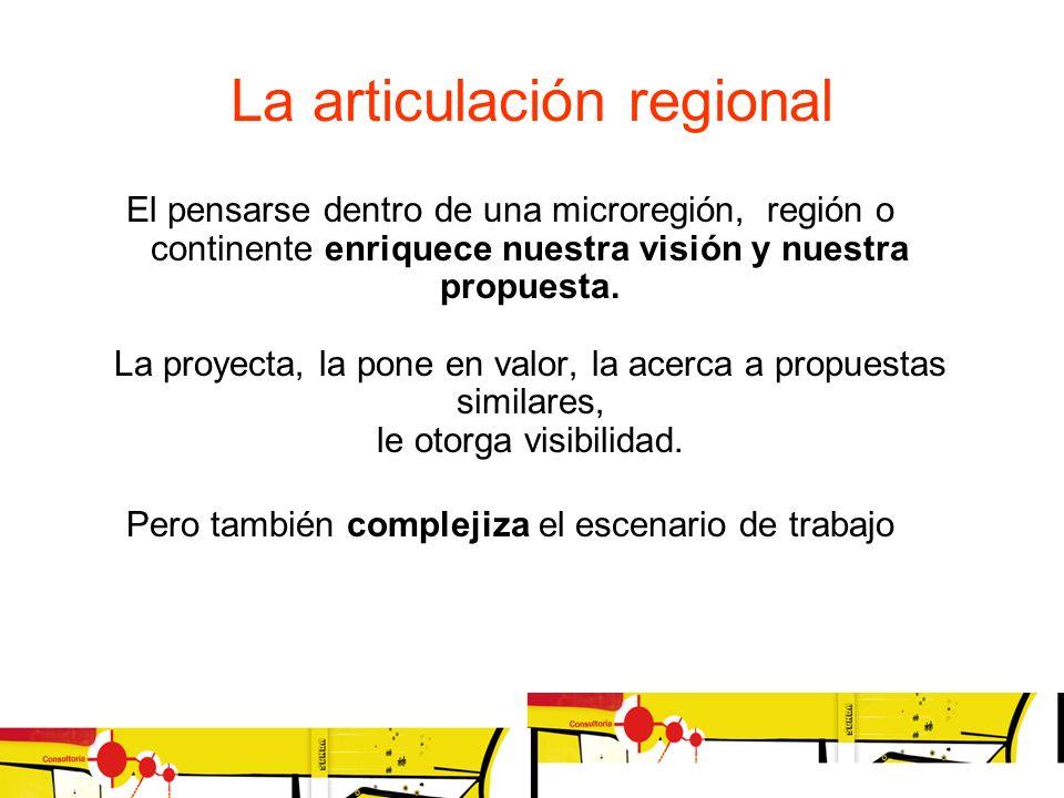 La articulación regional