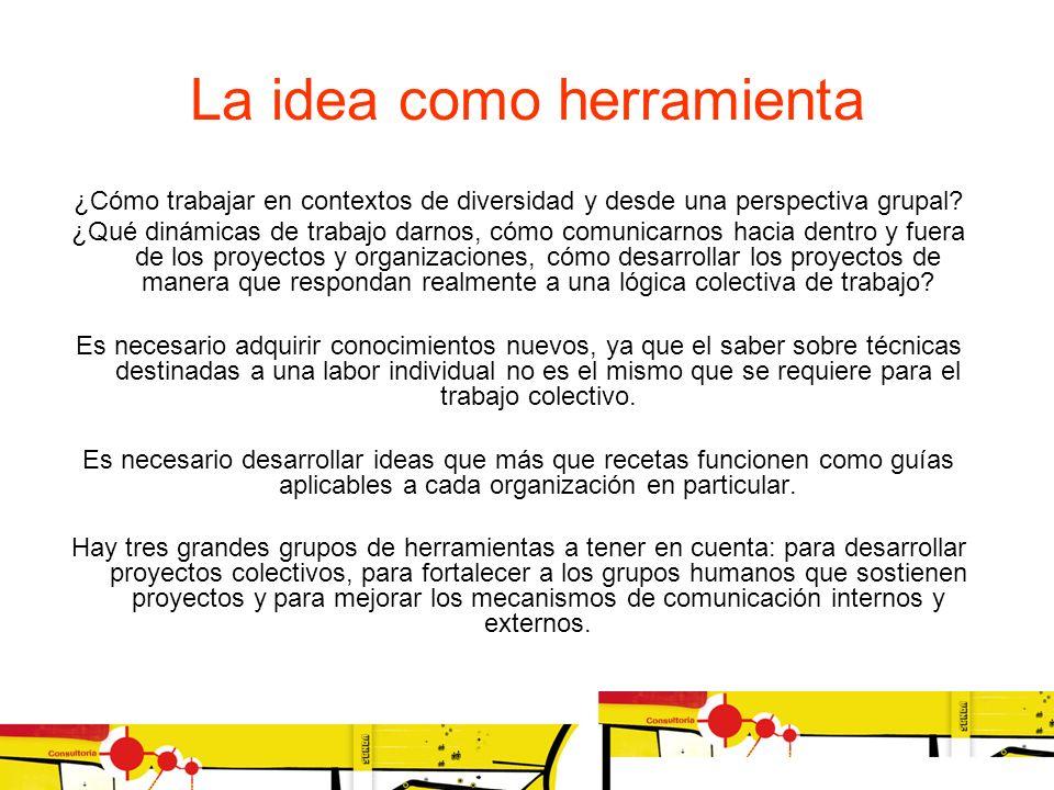 La idea como herramienta