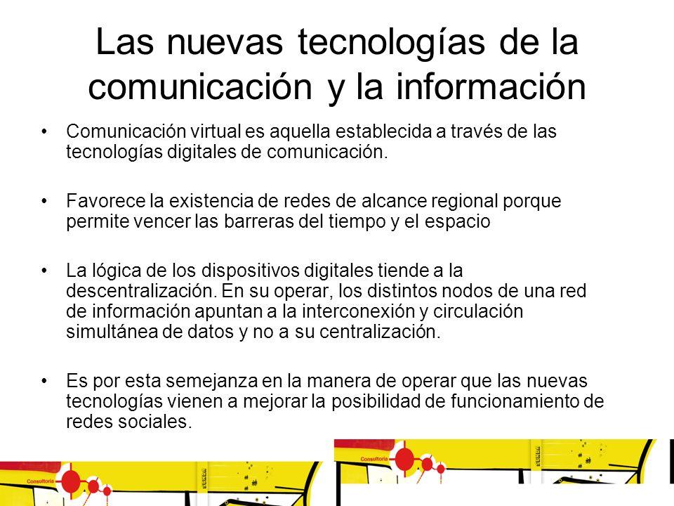 Las nuevas tecnologías de la comunicación y la información