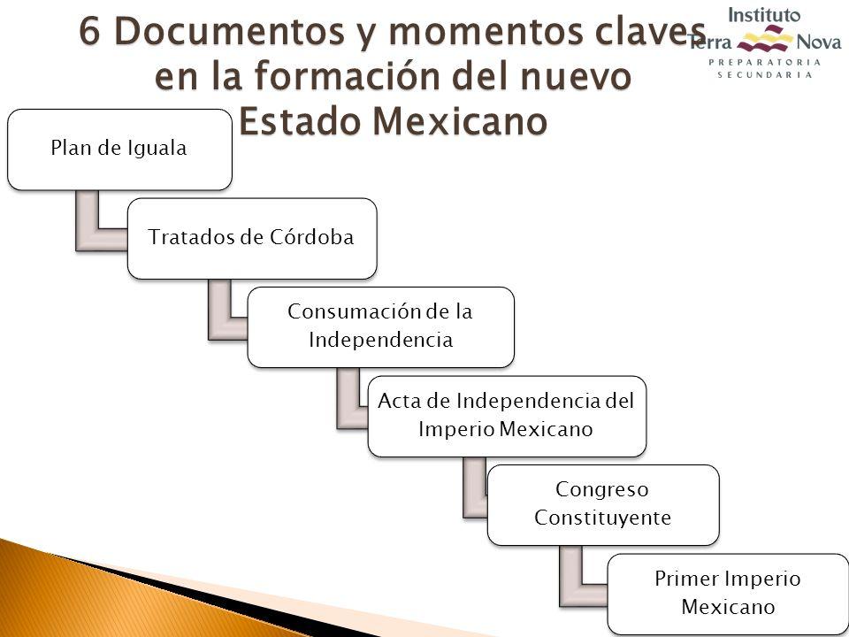 6 Documentos y momentos claves en la formación del nuevo
