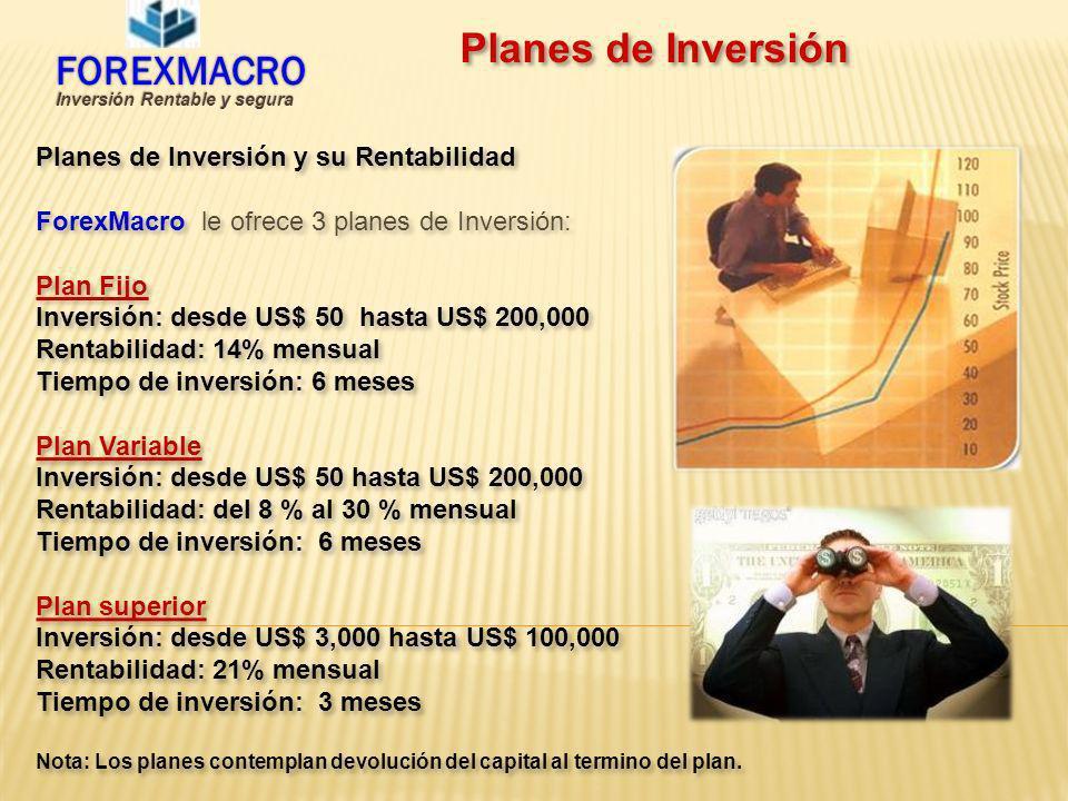 Inversión Rentable y segura