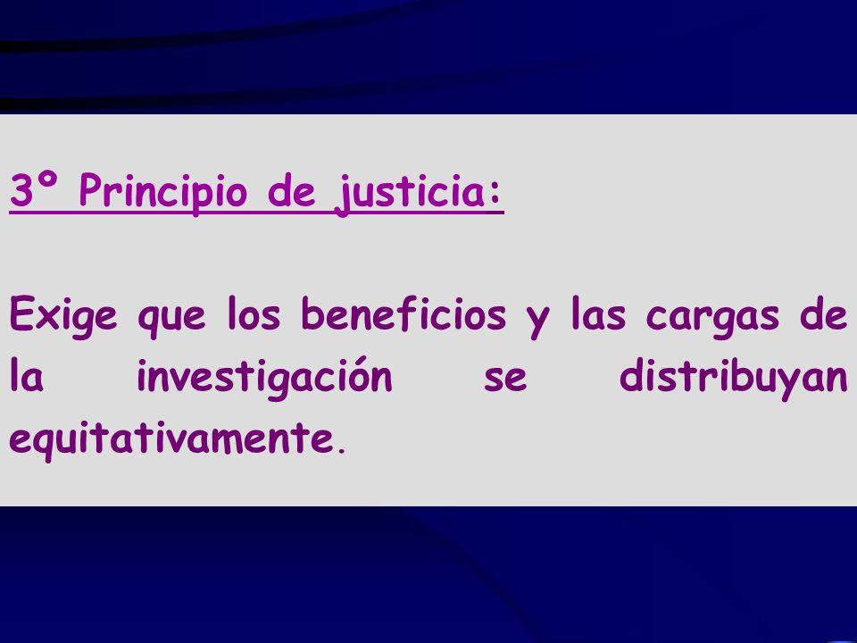 3º Principio de justicia: