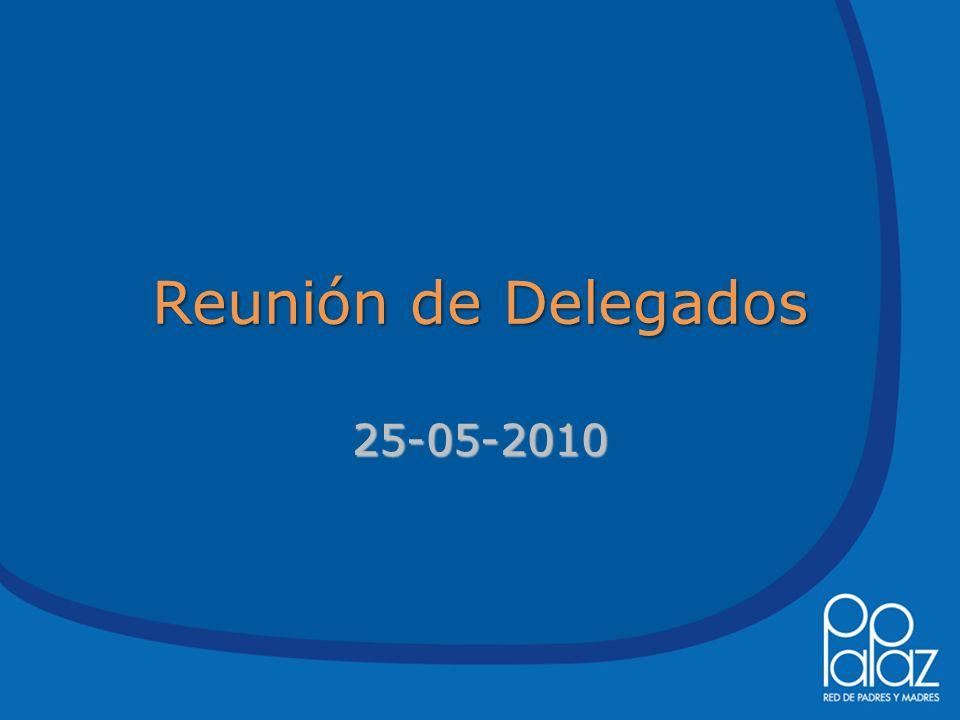 Reunión de Delegados 25-05-2010