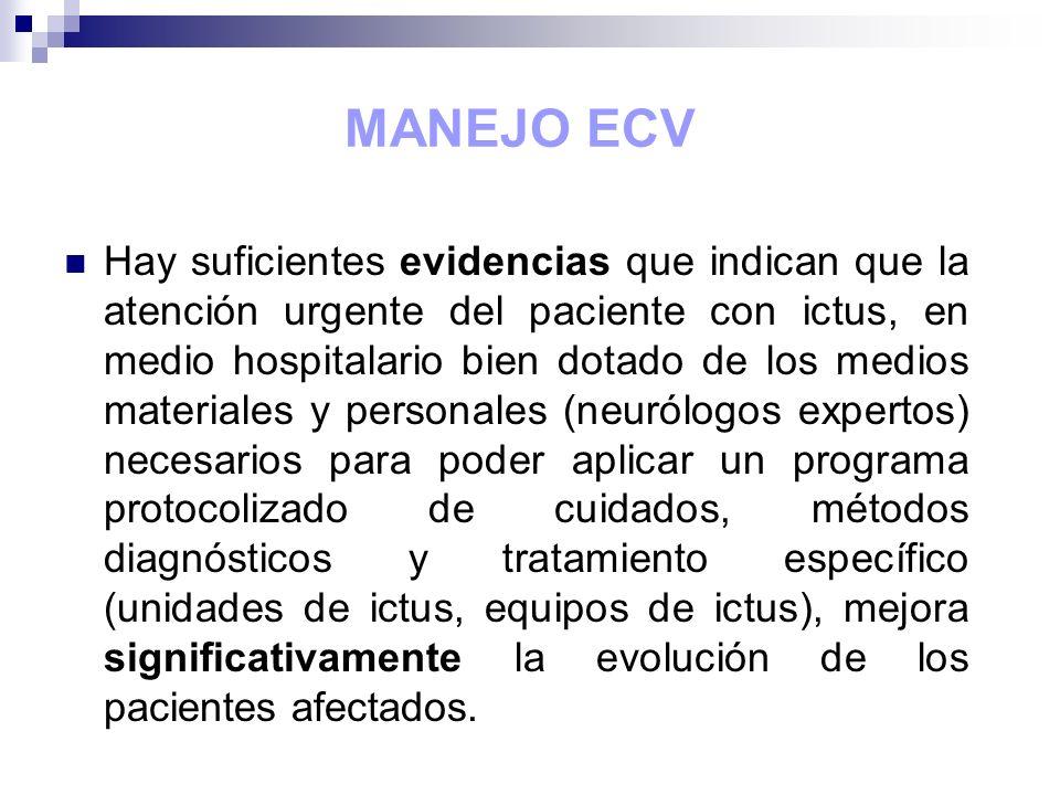 MANEJO ECV