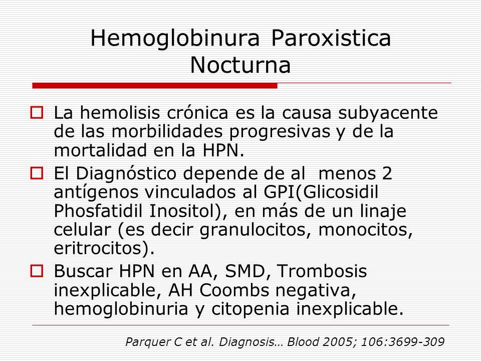 Hemoglobinura Paroxistica Nocturna