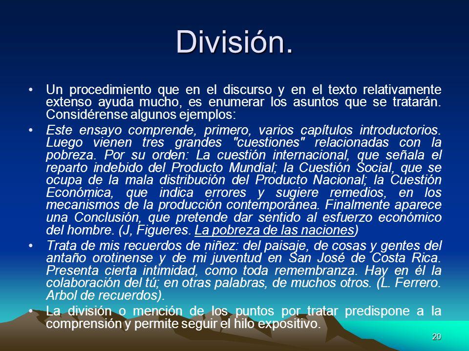 División.