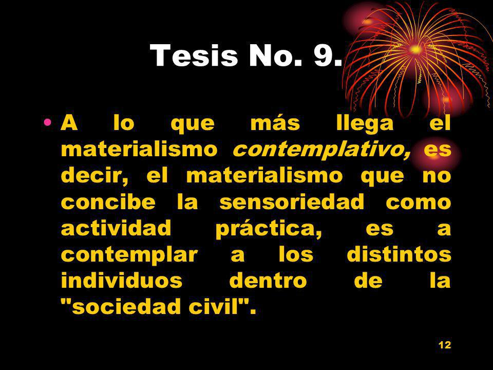 Tesis No. 9.