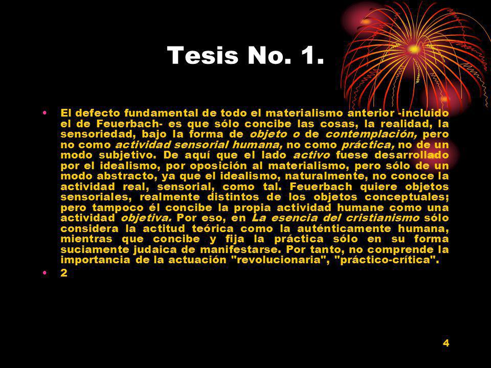 Tesis No. 1.