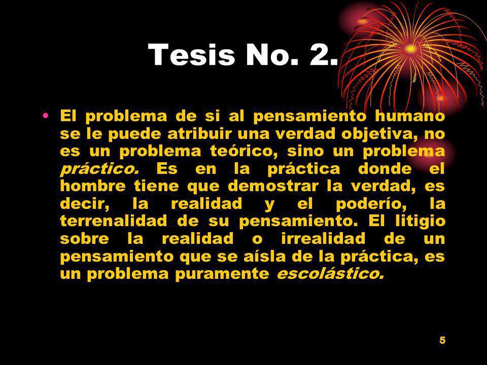 Tesis No. 2.