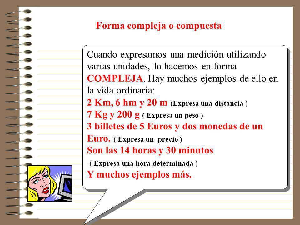 Forma compleja o compuesta