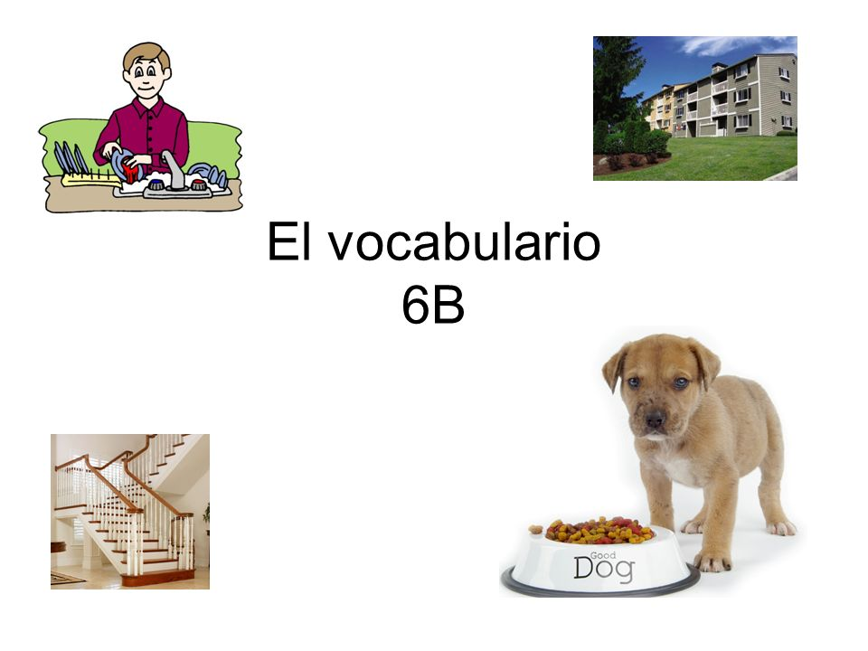El vocabulario 6B