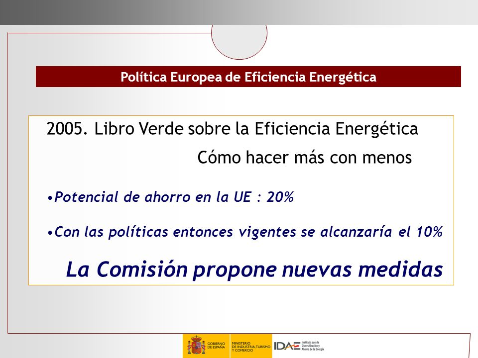 Política Europea de Eficiencia Energética