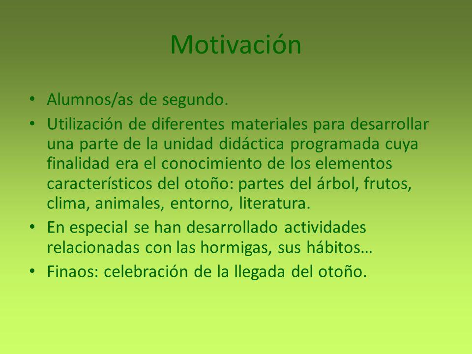 Motivación Alumnos/as de segundo.