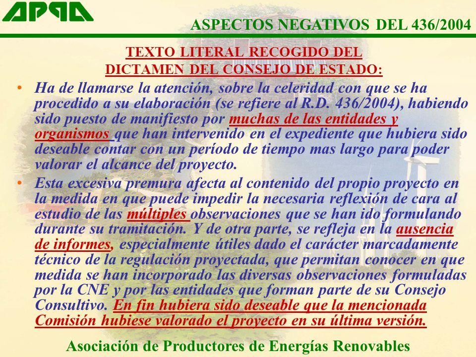 Asociación de Productores de Energías Renovables