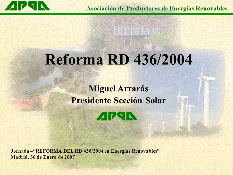 Presidente Sección Solar