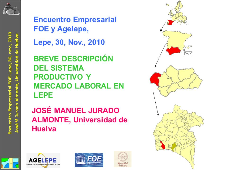 Encuentro Empresarial FOE y Agelepe, Lepe, 30, Nov., 2010