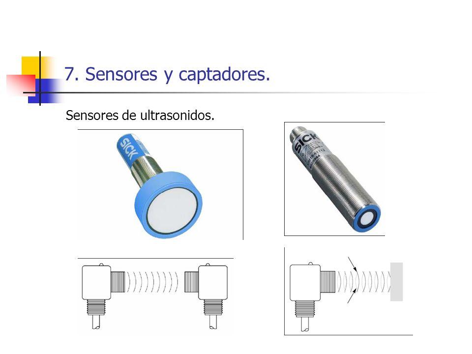 7. Sensores y captadores. Sensores de ultrasonidos.