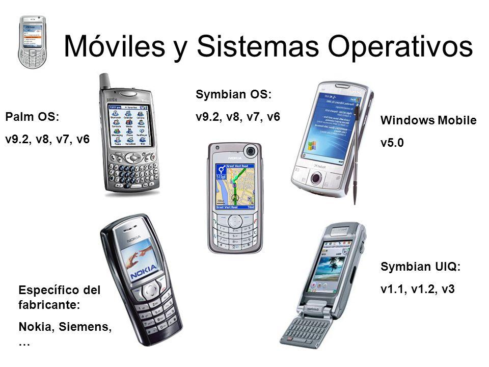 Móviles y Sistemas Operativos
