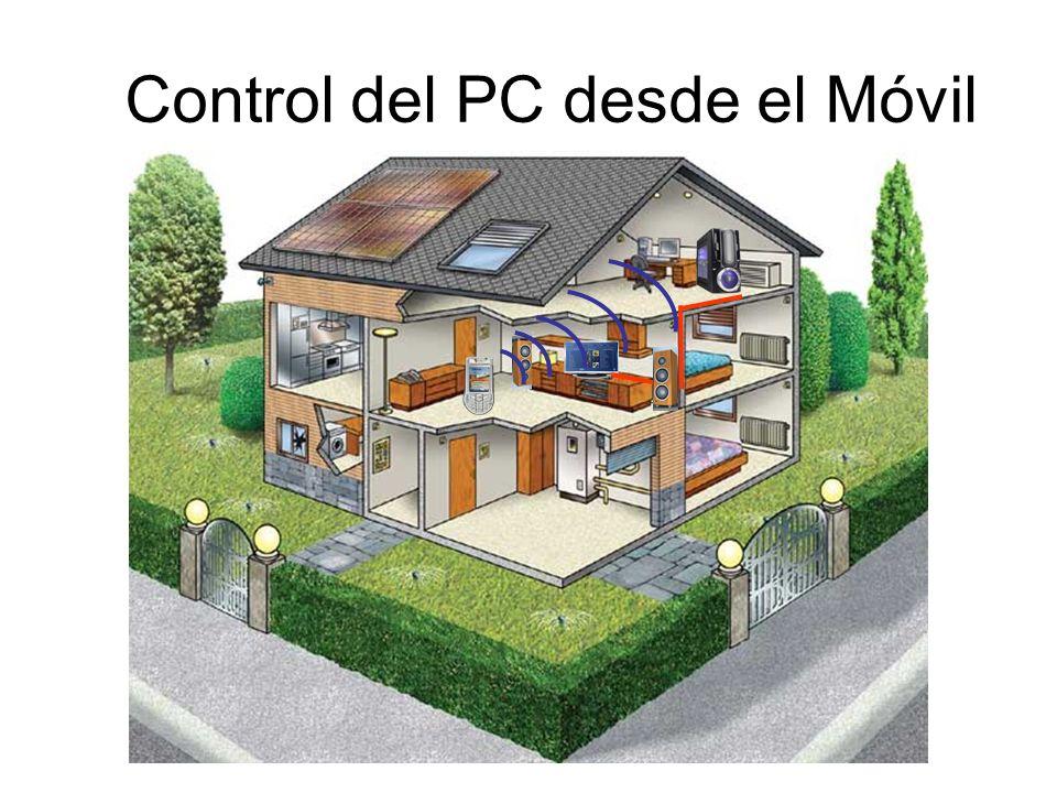 Control del PC desde el Móvil