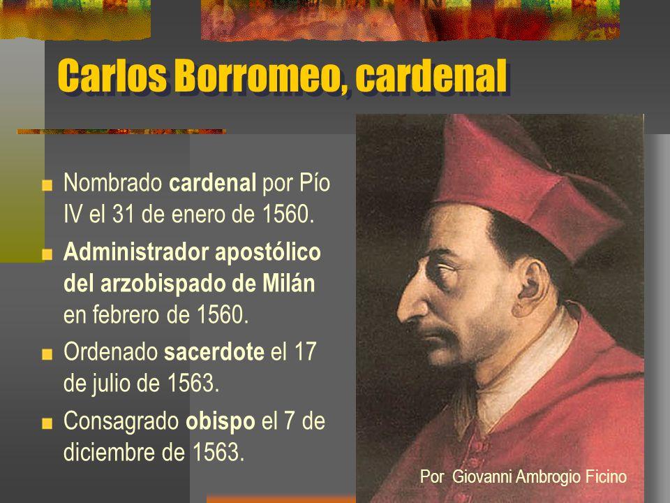 Carlos Borromeo, cardenal