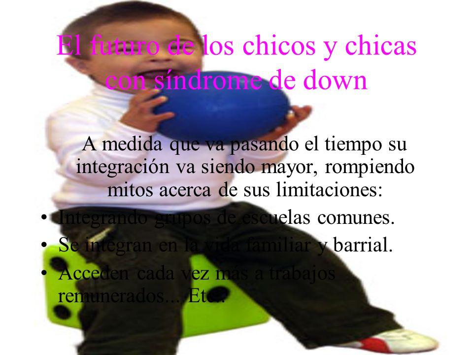 El futuro de los chicos y chicas con síndrome de down
