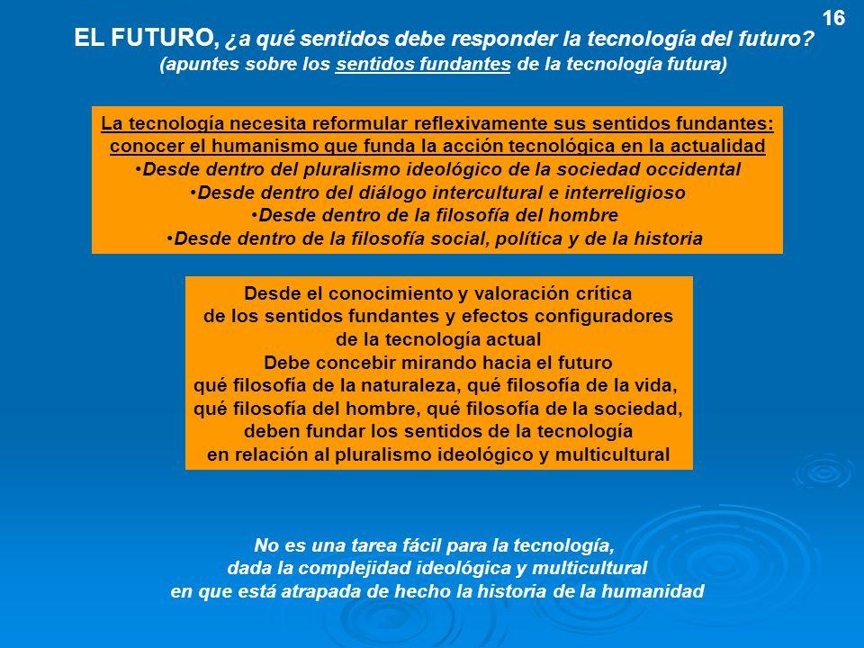 EL FUTURO, ¿a qué sentidos debe responder la tecnología del futuro