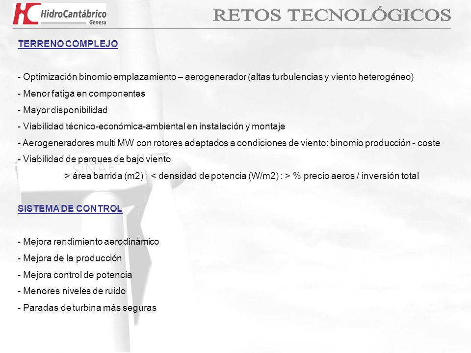 RETOS TECNOLÓGICOS TERRENO COMPLEJO